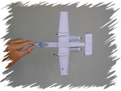 A-10  bottom PaperAircrafts