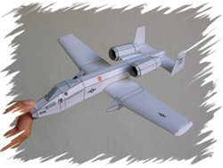A-10 front PaperAircrafts
