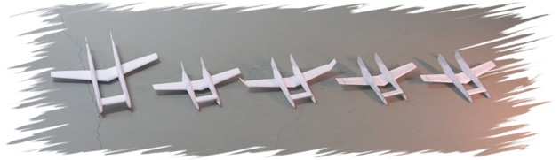 Aviation Memorial Flyer prototypes PaperAircrafts