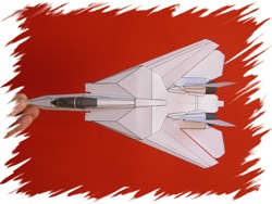 F-14 top PaperAircrafts