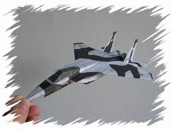 F-15 front PaperAircrafts
