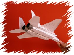 F-15 back PaperAircrafts