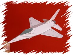 F-16 front PaperAircrafts