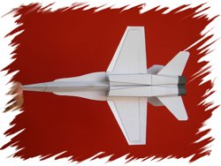 F-18 bottom PaperAircrafts