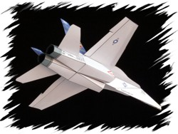 F-18 back PaperAircrafts