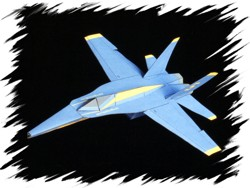 F-18 front PaperAircrafts