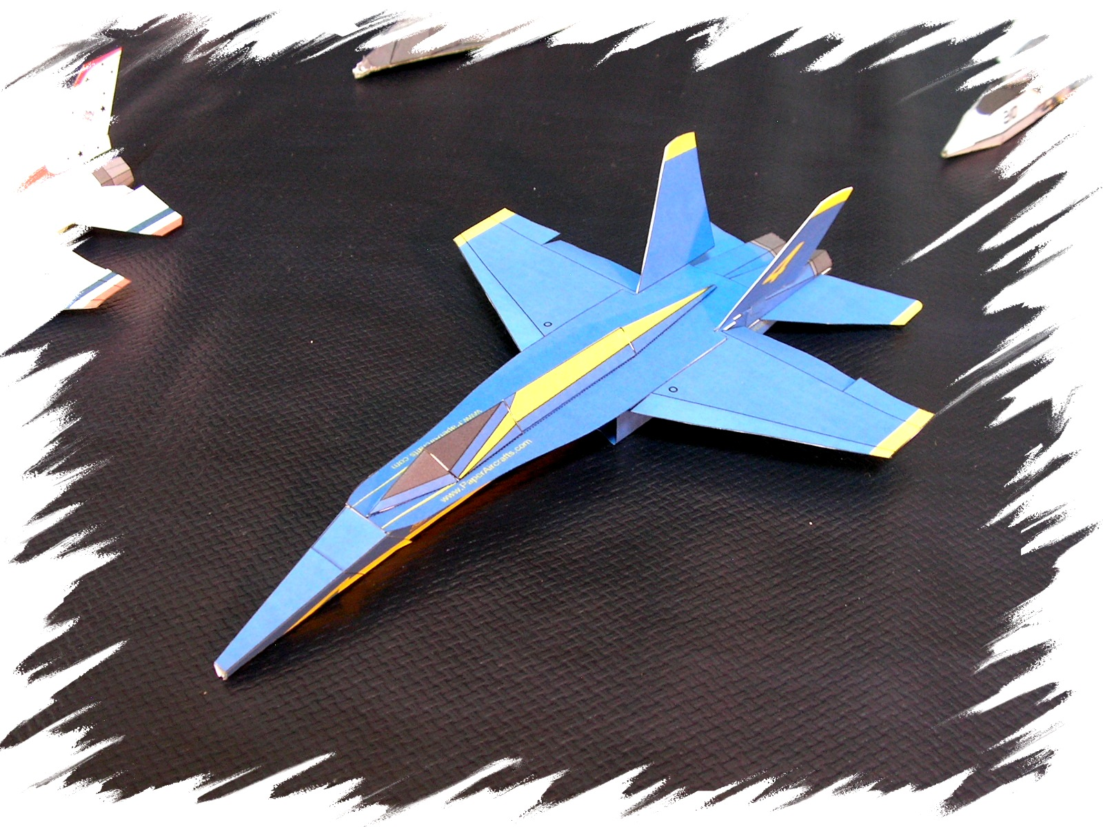 Flyable Modern Jets Realistic 3d Paper Airplane Models