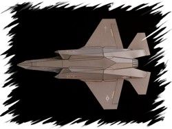 F-22 bottom PaperAircrafts