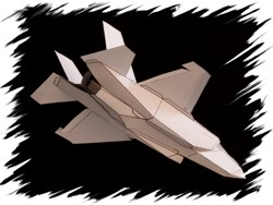 F-22 back PaperAircrafts