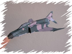 F-4E front PaperAircrafts