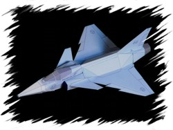F-22 front PaperAircrafts