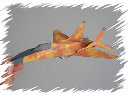 Mig-29  front PaperAircrafts