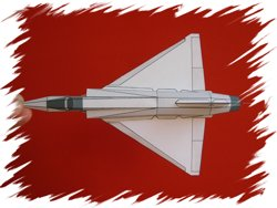 Mirage-2000 top PaperAircrafts