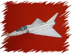 Mirage 2000 front PaperAircrafts