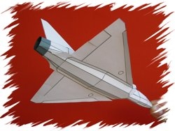 Mirage-2000 back PaperAircrafts