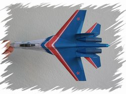 Su-27 top PaperAircrafts