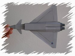 Eurofighter bottom PaperAircrafts