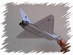 Eurofighter back PaperAircrafts