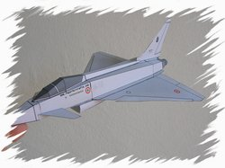 Eurofighter front PaperAircrafts