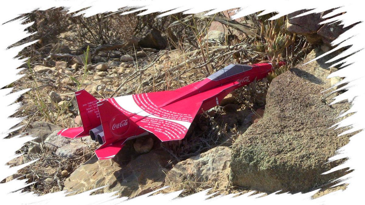 Coca-Cola Paper  F-15 ld
