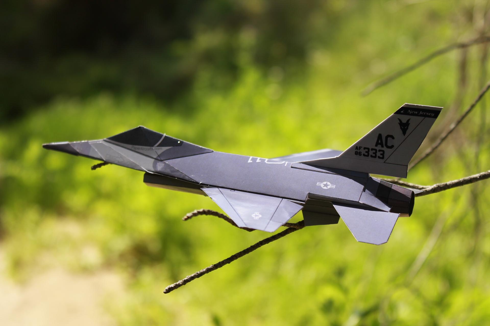 Paper F-16 Jersey Devils PaperAircrafts.com-2
