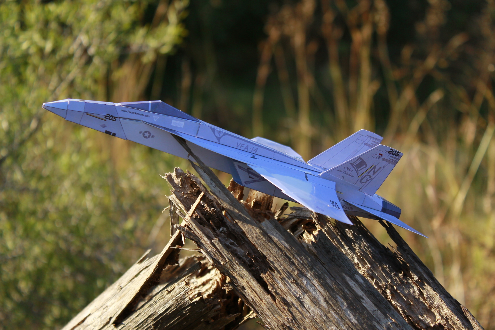 Paper F-18E Tophatters - PaperAircrafts.com