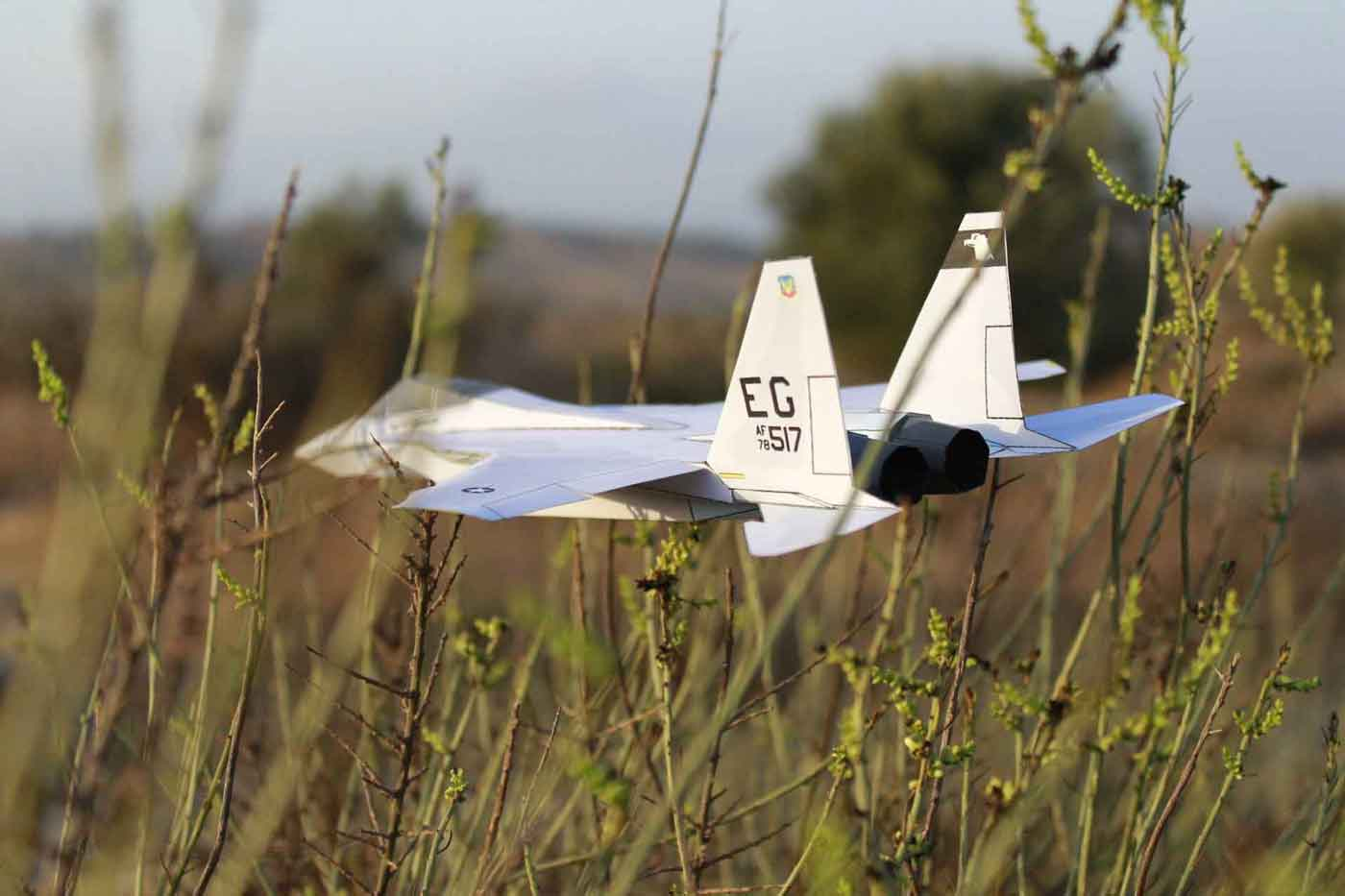 How to make an F15 Eagle Paper Airplane that flies far - video ... | 933x1400